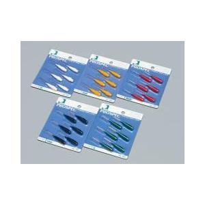 ジーシー(GC)歯科用 プロスペック 歯間ブラシ 2 スペアー 6パック 歯間ブラシ 1パックにつき(ブラシ6本入)|e-dent