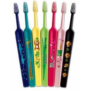 テペ ZOO( ズー)コンパクト エクストラソフト 25本 歯ブラシ 超やわらかめ 7キャラクター|e-dent