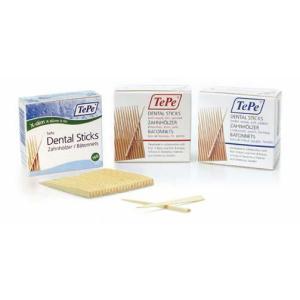 テペ ウッドスティック スリム 歯間ようじ 細 白樺 125本 1箱 Wooden Dental Sticks|e-dent