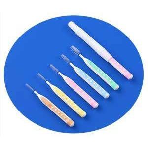 【限定在庫限り】 サンデンタル PETIT プチ歯間ブラシ(10本入)   サイズSS  キャップ付き I型|e-dent|04