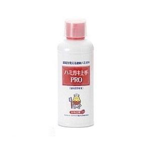 【松風】【歯科用】ハミガキ上手PRO(いちご味)180ml 1本【歯垢染色液体ハミガミ】|e-dent
