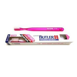 【限定在庫限り】サンスター/バトラー 歯科用 バトラー歯ブラシ #116 1本 歯ブラシ やわらかめ スーパーコンパクトヘッド (色お任せ)|e-dent