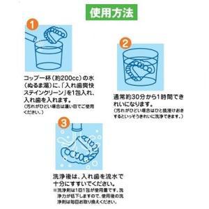 【和田精密歯研】【歯科用】 入れ歯爽快 ステインクリーン 1箱 2.5g×30包 【義歯洗浄剤】|e-dent|04