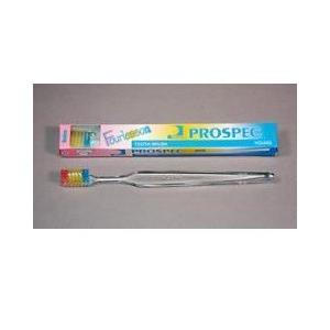 【ジーシー(GC)】【歯科用】プロスペック歯ブラシ フォーレッスン ヤング  M  1本 【歯ブラシ】【ふつう】ハンドル色クリアー Fourlesson|e-dent