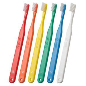 オーラルケア 歯科用 タフト12 SS 25本 スーパーソフト 歯ブラシ やわらかめ 矯正患者さん向け|e-dent