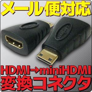 メール便可 HDMI端子(メス)をminiHDMI端子(オス)へ変換!|e-device