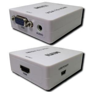 レターパックライト対応 VGA → HDMI 変換器|e-device