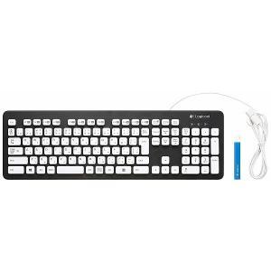 新品 お取寄品 ロジクール Logicool キーボード テンキー付 排水穴付き UVコーティング Washable Keyboard k310|e-device