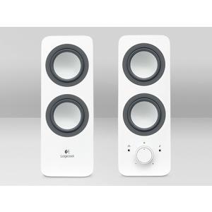 新品 お取寄品 ロジクール Logicool マルチメディアスピーカー Z200WH ホワイト|e-device