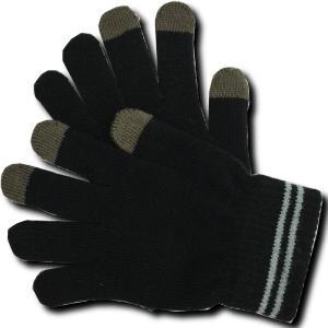 メール便可 つけたままでスマホの操作 手袋のまま操作できる のびのび手袋スマートタッチ!|e-device