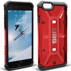 アウトレット メール便可 UAG-IPH6S-MGM iPhone6s iPhone6 コンポジット ケース クリアレッド 国内正規代理店品 URBAN ARMOR GEAR e-device