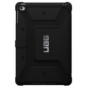 アウトレット メール便可 UAG-IPDM4-BLK iPad mini 4 用 ケース フォリオ ケース ブラック 国内正規代理店品 URBAN ARMOR GEAR|e-device