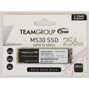 新品 メール便可 TM8PS7256G0C101 Team チームグループ 256GB MS30 M.2 2280 SATA III TLC内部ソリッドステートドライブSSDモデル|e-device