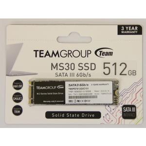新品 メール便可 TM8PS7512G0C101 Team チームグループ 512GB MS30 M.2 2280 SATA III TLC内部ソリッドステートドライブSSDモデル|e-device