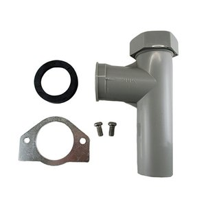 オーバーフロー接続口(取付口30用)付・排出エルボ|e-disposer