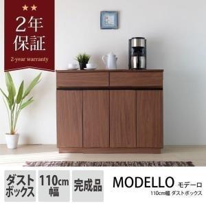 キッチン ゴミ箱 110幅 モデーロ 110 ダストボックス (IS)|e-dollar