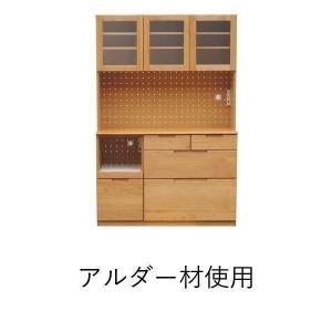 食器棚 レンジ台 アルダー 無垢 収納家具 ERIS (IS)|e-dollar