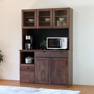 食器棚 キッチン収納 無垢 オープンボード ベローチェ(IS)|e-dollar