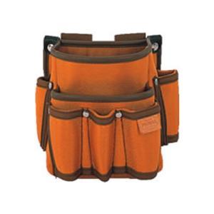 プロマックス 電工腰袋2段(工具差し付)|e-dougu