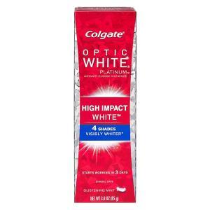 コルゲート Colgate 歯磨き粉 オプティックホワイト プラチナム ハイインパクト 85g|e-duo-mart