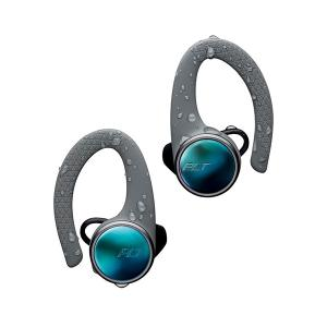 Bluetooth 完全ワイヤレス イヤホン Plantronics BackBeat FIT 3100 グレー コードレスイヤホン iPhone スポーツ用 ランニング用 イヤフォン (送料無料)|e-earphone