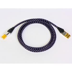 (お取り寄せ) Analysis Plus アナリシス Purple Plus USB USB A-Bタイプ USBケーブル(2.0m)|e-earphone