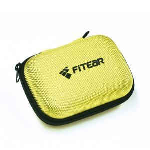 須山補聴器 FitEar セミハードケース/黄|e-earphone