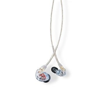 SHURE シュア SE535 クリア Pro Line(SE535-CL-A) ケーブル着脱式 高音質 カナル型 イヤホン 国内正規品 (送料無料) e-earphone