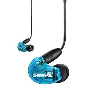 SHURE シュア SE215SPE-B+UNI-A ケーブル着脱式 高音質 有線 カナル型 イヤホ...