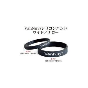 バンナイズ VanNuysシリコンバンド ワイド(VD281)( ポータブルオーディオ機器/モバイルバッテリーを束ねるのに便利なシリコンバンド) e-earphone