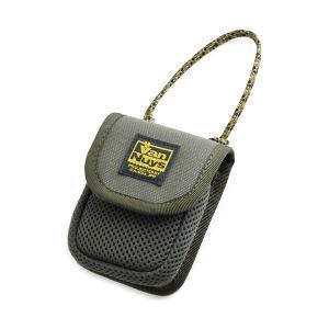 バンナイズ 柔らか素材のふわふわイヤホンケース グリーン (送料無料)|e-earphone