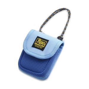 バンナイズ 柔らか素材のふわふわイヤホンケース ブルー (送料無料)|e-earphone