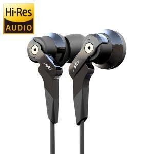 radius(ラディウス) High-MFD System HP-NHR11K ブラック ハイレゾイヤホン (送料無料)|e-earphone