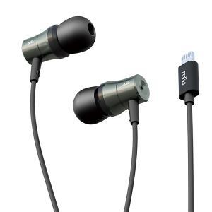 (お取り寄せ商品)radius HP-NEL21K ブラック Lightning直結型イヤホン (送料無料) e-earphone