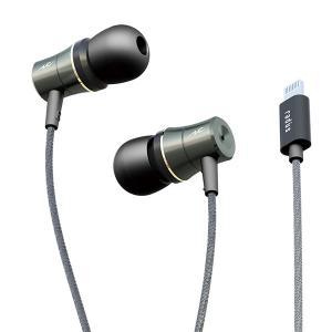 radius HP-NEL31K ブラック Lightning直結型イヤホン (送料無料) e-earphone