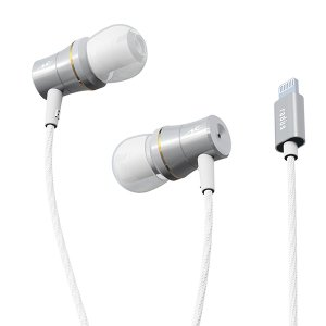 radius HP-NEL31S シルバー Lightning直結型イヤホン (送料無料) e-earphone