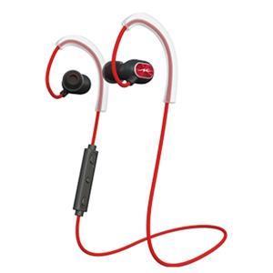 radius Sports Bluetooth Series レッド HP-S100BTR スポーツタイプ ワイヤレス ブルートゥース マグネット 両耳 イヤホン (送料無料)|e-earphone