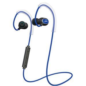 radius Sports Bluetooth Series ブルー HP-S100BTB スポーツタイプ ワイヤレス ブルートゥース マグネット 両耳 イヤホン (送料無料)|e-earphone