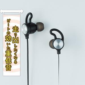 radius HP-G100BTS シルバー 重低音 Bluetooth ワイヤレス イヤホン (送料無料)|e-earphone