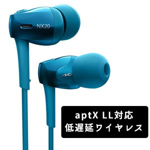 Bluetooth イヤホン ワイヤレス イヤホン radius NeEXTRA HP-NX20BTB ブルー (送料無料)|e-earphone