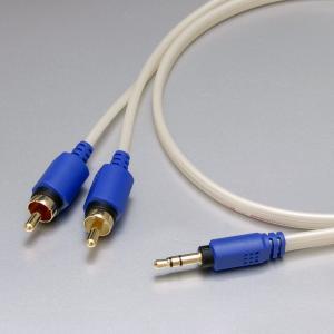 onso 3.5-RCA接続ケーブル 0.75m(mspr_01_075)RCAケーブル/オーディオケーブル|e-earphone