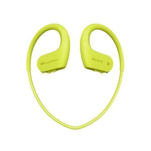 ウォークマン Wシリーズ 本体 Bluetooth機能搭載 SONY ソニー NW-WS623 GM ライムグリーン 4GB (送料無料)|e-earphone