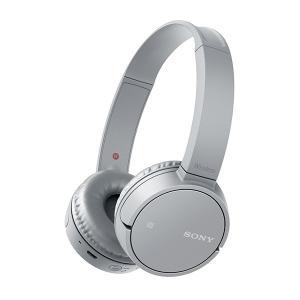Bluetooth ヘッドホン SONY WH-CH500 HC(グレー) 折り畳み可 ポータブル ワイヤレス ヘッドフォン|e-earphone