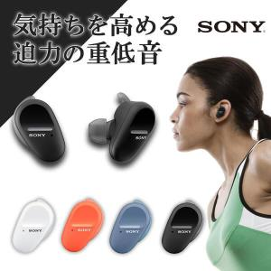 Bluetooth 完全ワイヤレス イヤホン SONY ソニー WF-SP800N BM ブラック ...