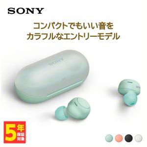 SONY フルワイヤレスイヤホン WF-C500 G アイスグリーン eイヤホンPayPayモール店