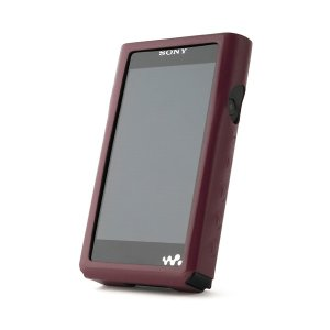Miter(ミター)MITER NW-WM1シリーズ用OPUレザーケース ワインレッド(MT-WM1-CASE-WINE) (送料無料)|e-earphone