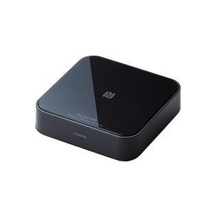 (新製品) Bluetooth ワイヤレス オーディオレシーバー ELECOM エレコム LBT-AVWAR501BK (送料無料)|e-earphone