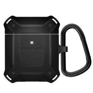 (お取り寄せ) ELECOM エレコム AirPods用ZEROSHOCKケース ブラック (AVA-APZEROBK)|e-earphone
