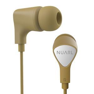 NUARL(ヌアール) NE1000YL イエロー(リモコンマイクケーブル付きイヤホン)|e-earphone