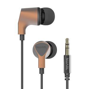 NUARL NX110A-マットカッパー カナル型イヤホン|e-earphone